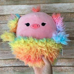 Squishmallow Elda The Ostrich Rainbow NEW